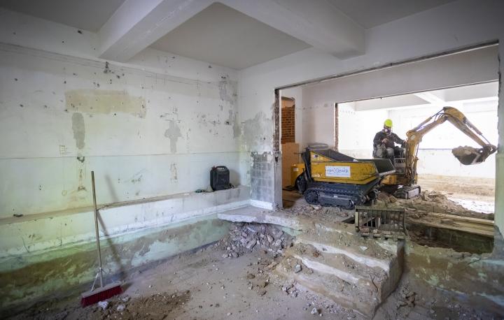 bouwvordering intern